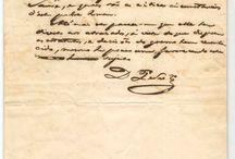 Família Imperial manuscritos e fotos