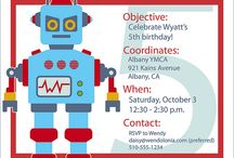 Birthday Party--Robot theme / These are websites I used to help me create Tyren's robot birthday party a few years ago. Found them in a folder (from pre-Pinterest days), and thought I should share.