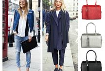 Outfit inspirations / Our handbags are a great addition to every outfit and add just the right amount of color  - so get inspired! http://mybestfriendisabag.com