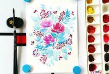 watercolour / mostly watercolor shiz