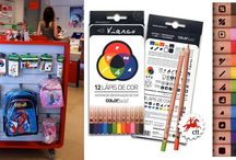 ColorADD Education / The ColorADD already allows us to learn through its color code, already applied in several teaching materials.