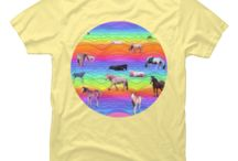 Horses in Rainbow