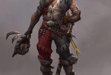 DSA NPC Adventurers and Travelers, Roamers and Treasure Hunters