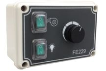 External speed controller for air quality control