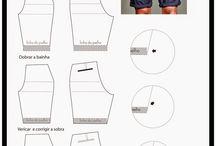 Moldes costura