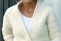 crochet vests- cardigans