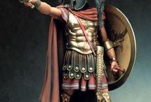 Antike Krieger