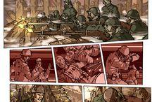 CLANES / Comic creado por Pedro Vigil y ManuelJ Art