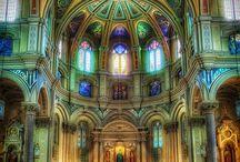 Églises du monde et ici
