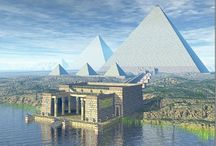 wonders of the world / it shows monuments around the world