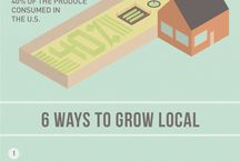Grow Your Own Food / Tips for home gardeners, community gardeners, and more  / by Sustainable America