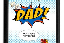 Father's Day gifts / Great gift ideas for Fathers day from http://www.artylicious.co.uk