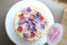 Mei / Cake & flowers