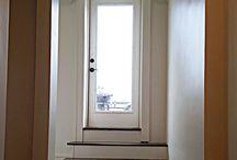 Stairwell and Hardwood Flooring