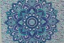 Mandala / A Mandala is an integrated structure organised around a unifying center. It is used in architecture, different cultural, different religious activities, politically,etc.