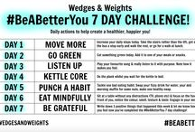 *Challenges* / Health, Fitness & Lifestyle Challenges!