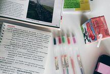 Jeśli się uczyć... / Ciekawe pomysł na naukę: notatki, gadżety naukowe, kolorowe długopisy- wszystko, co sprawi, że zachce Ci się uczyć :)