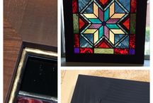Creative Custom Framing / Great ideas we've found for enhancing and displaying your art in creative ways.