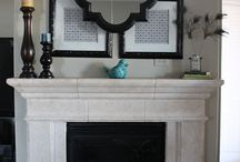 Staged Mantels