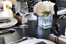 Decoración mesas / Decoración y presentación mesas