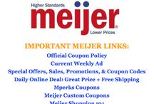 Meijer Deals / Find out how to save big at Meijer with the latest Meijer sales, Meijer coupons and manufacturer coupons!