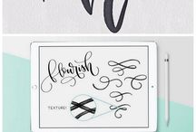 Learn Hand Lettering / Hand lettering tutorials, techniques, tools and tips. Learn how to hand letter, plus tips for typography and brush lettering with watercolor inks, paints, brush pens and other tools.