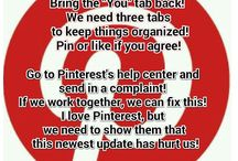 Pinterest BRING IT BACK!!!!!!