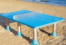 Table Tennis Tables / Outdoor Table Tennis Tables for schools or public areas can encourage exercise in a social and fun way. Caloo's tables are made of fibreglass which makes them extremely vandal resistant.