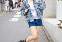 ❝bittersweet girl❞ asia street style