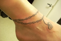 Ankle Bracelet Tattoos