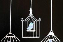 craft: silhouette animali