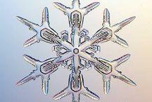 snowflakes sněhové vločky