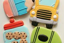School / cakes & cookies ideas