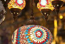 candeeiro de teto marroquino