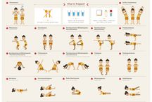 Different Types of Yoga and Poses / Descriptions of poses and different types of yoga