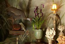 Jungle decor or garden on the inside