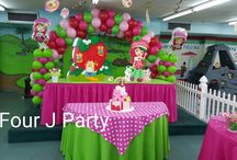 Strawberry Shortcake Decorations