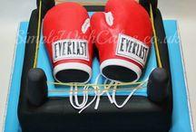 kickbox cake