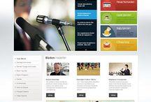 Dernek Tasarımları / Web Tasarımı