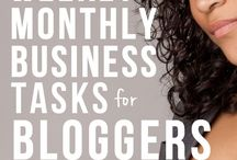 Behind the Blog / Building your blog and keeping it organized with the Blogging Tips