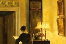 lettura nell'arte