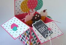 Card in a box (examples)