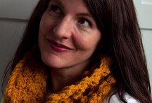crocheting/knitting / by Bonnie Bertram