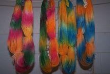 Farbenie - dyeing / by Lenka Lienka