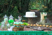 "Sweet table ""Forêt enchantée"" / www.babypopsparty.com"