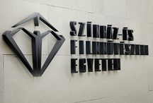 Theatre and Film Academy / Hungarian Theatre and Film Academy logo plan