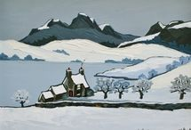 David Barnes winter paintings