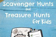 Scavenger Hunts and teasure Hunts