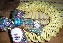 inspirace pletení z papíru - Inspiration knitting paper - / knitting paper -  papírového pletení