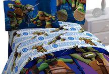 Ninja Turtles Room Inspiration